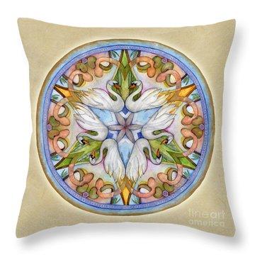 Beloved Mandala Throw Pillow