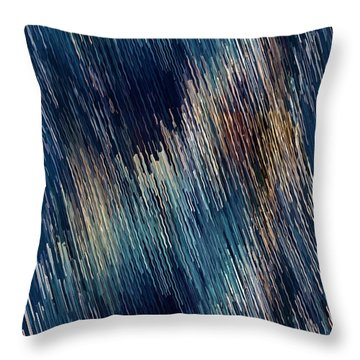 Below Zero Throw Pillow