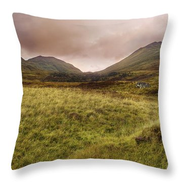 Ben Lawers - Scotland - Mountain - Landscape Throw Pillow by Jason Politte