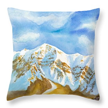 Ben Lomond Throw Pillow