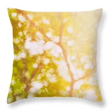 Beneath A Tree  14 5199   Diptych  Set 1 Of 2 Throw Pillow