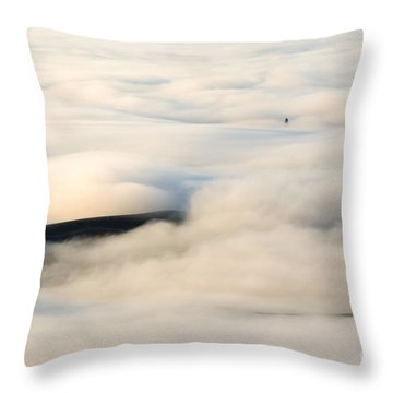 Beneath The Blanket Throw Pillow by Mike  Dawson