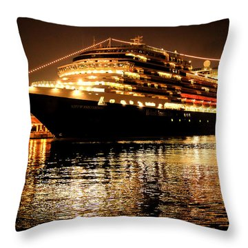 Beneath The Stars Throw Pillow by Karen Wiles