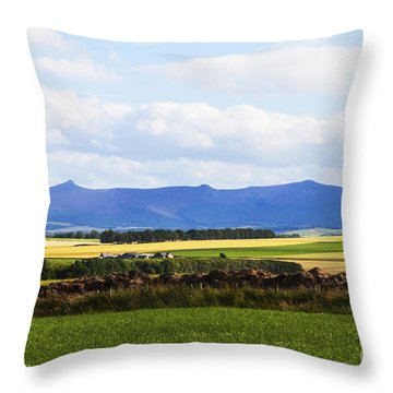 Bennachie Throw Pillow
