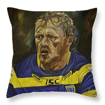 Benny Westwood Throw Pillow
