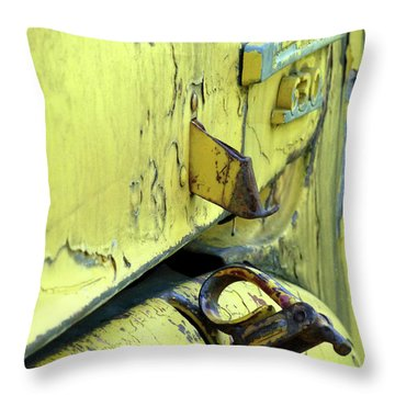 Throw Pillow featuring the photograph Bent by Newel Hunter