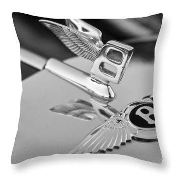 Bentley Hood Ornament 5 Throw Pillow by Jill Reger