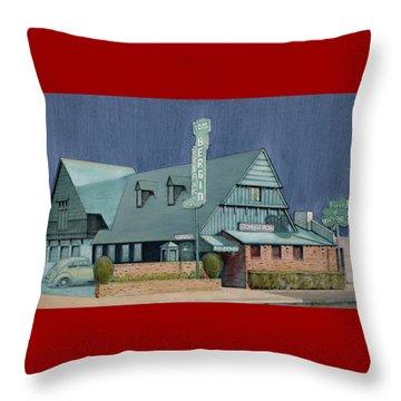 Bergins Throw Pillow