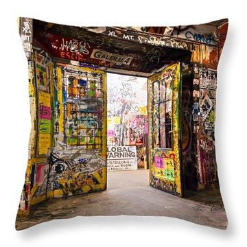 Berlin - The Kunsthaus Tacheles Throw Pillow