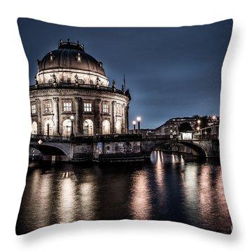 Berlin - Bode-museum Throw Pillow by Hannes Cmarits
