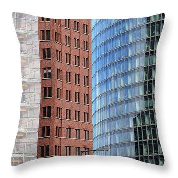 Berlin Buildings Detail Throw Pillow