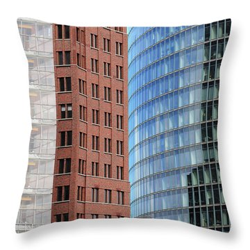 Berlin Buildings Detail Throw Pillow