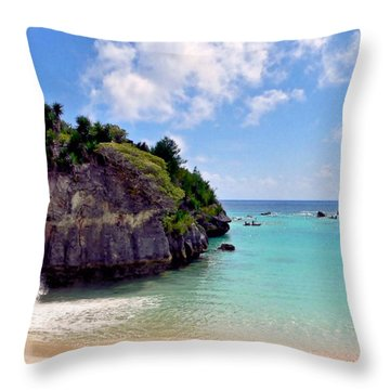 Bermuda Throw Pillow