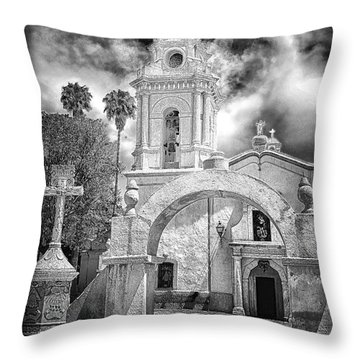 Bernal Church Throw Pillow
