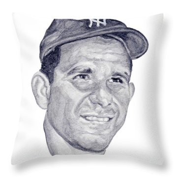 Berra Throw Pillow