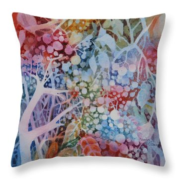 Berries Alive Throw Pillow