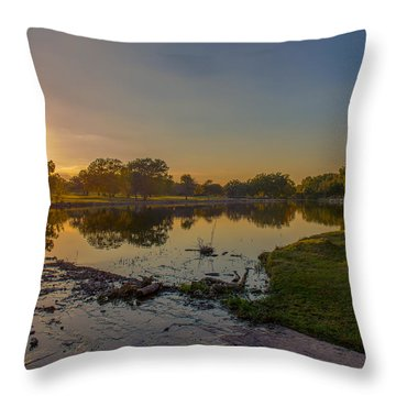 Berry Creek Sun Set Throw Pillow
