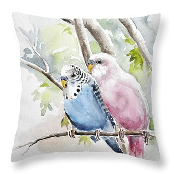 Best Buddy Throw Pillow