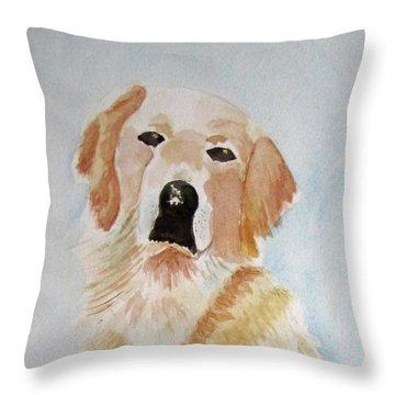 Best Friend 2 Throw Pillow by Elvira Ingram