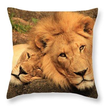 Best Friends For Life Throw Pillow