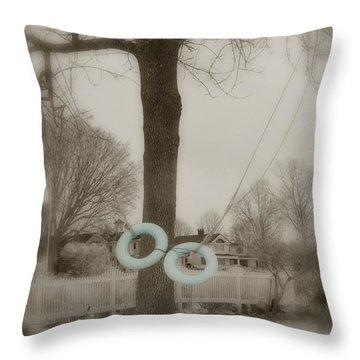 Best Friends Throw Pillow by Joann Vitali