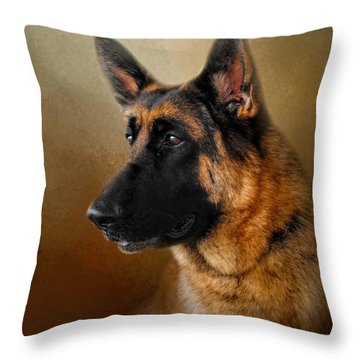 Best In Show - German Shepherd Throw Pillow