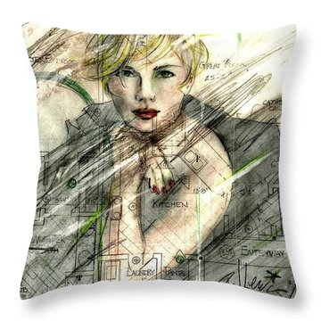 Best Laid Plans... Throw Pillow