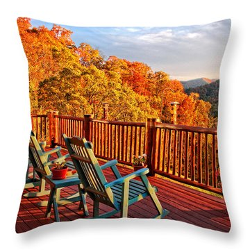 Best View In Town  Throw Pillow