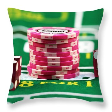 Bet Throw Pillow