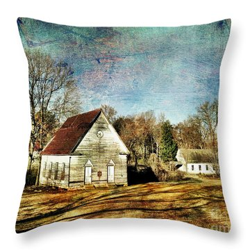 Bethany Baptist Church Enid Ms Throw Pillow
