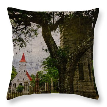 Bethany Cemetery Entryway Throw Pillow