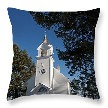 Bethany Church Throw Pillow
