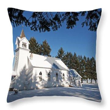 Bethany Church II Throw Pillow