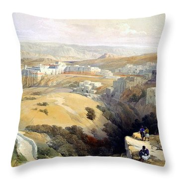 Bethlehem  Throw Pillow