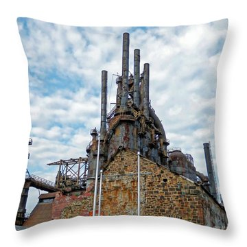 Bethlehem Steel # 2 Throw Pillow
