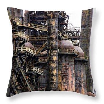 Bethlehem Steel Series Throw Pillow
