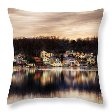Betrand Island Throw Pillow