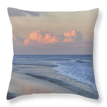 Better Days Ahead Seaside Heights Nj Throw Pillow