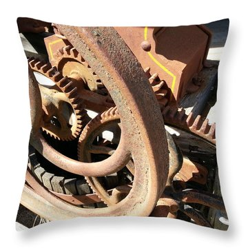 Throw Pillow featuring the photograph Better Days by Caryl J Bohn