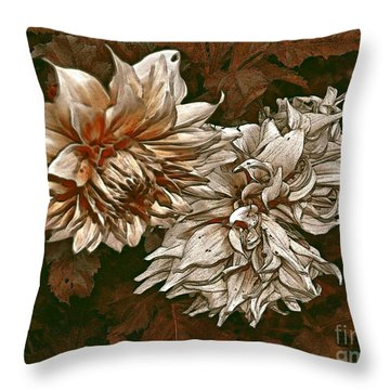 Throw Pillow featuring the photograph Betty's Beauty 1 by Don Wright