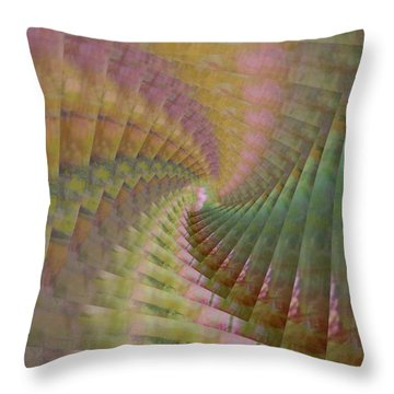 Between Heaven And Earth Throw Pillow by PainterArtist FIN