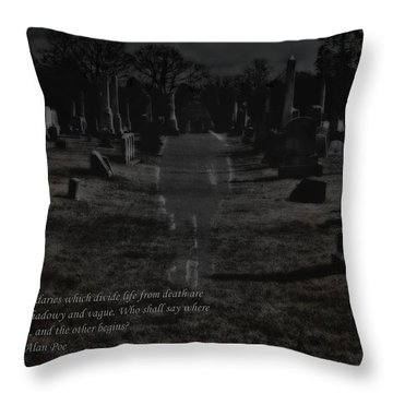 Between Life And Death Throw Pillow