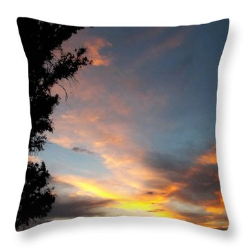 Between Night And Day Throw Pillow by Glenn McCarthy Art and Photography