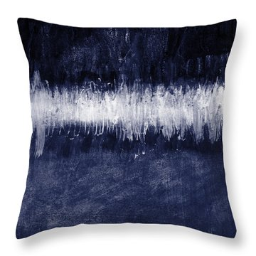 Between Sky And Sea Throw Pillow