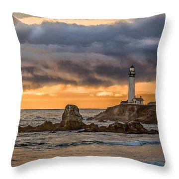 Between Storms Throw Pillow