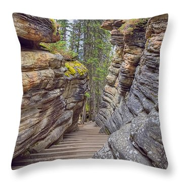 Between The Stones Throw Pillow