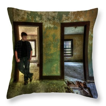 Beyond Regrets Of The Past Throw Pillow by Evelina Kremsdorf