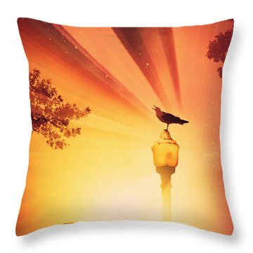 Beyond The Beyond Throw Pillow
