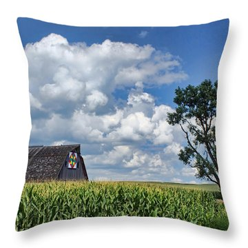 Beyond The Corn Throw Pillow