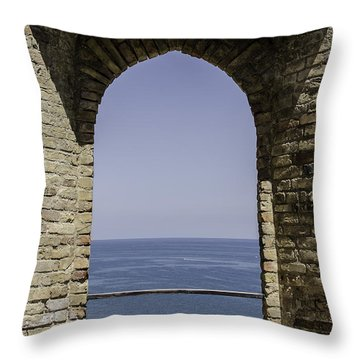 Beyond The Gate Of Infinity Throw Pillow